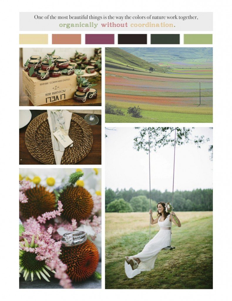 wedding wildflower inspiration