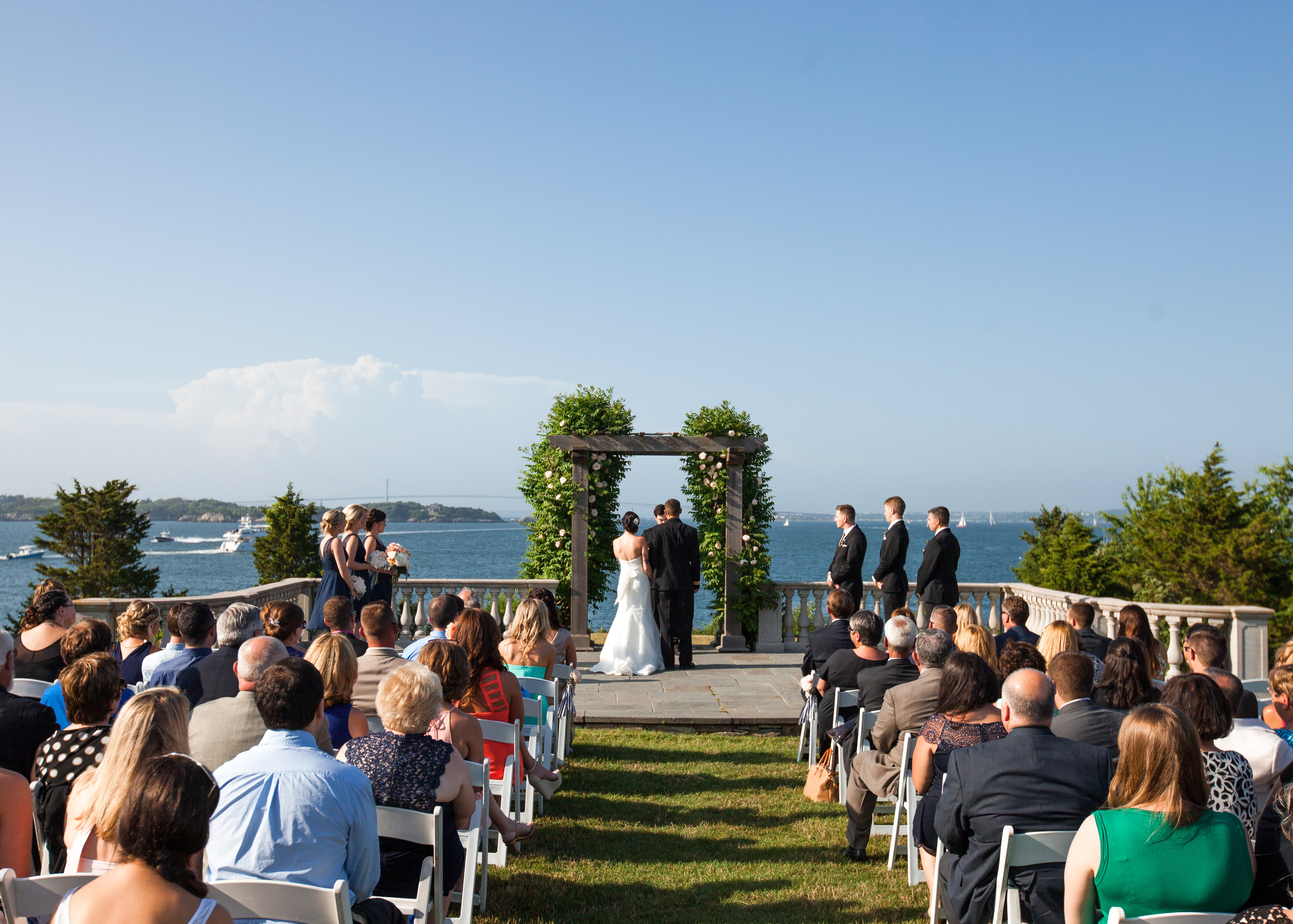 Castle Hill Inn Wedding