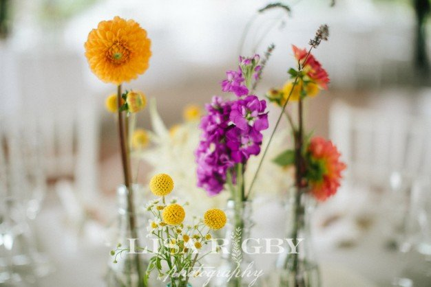 Fruitlands museum wedding flowers