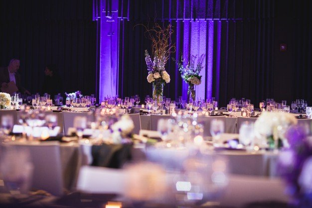 boston wedding tablescape