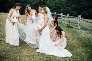 New England Backyard Wedding