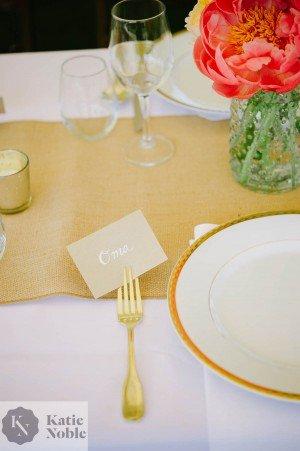 wedding placecard