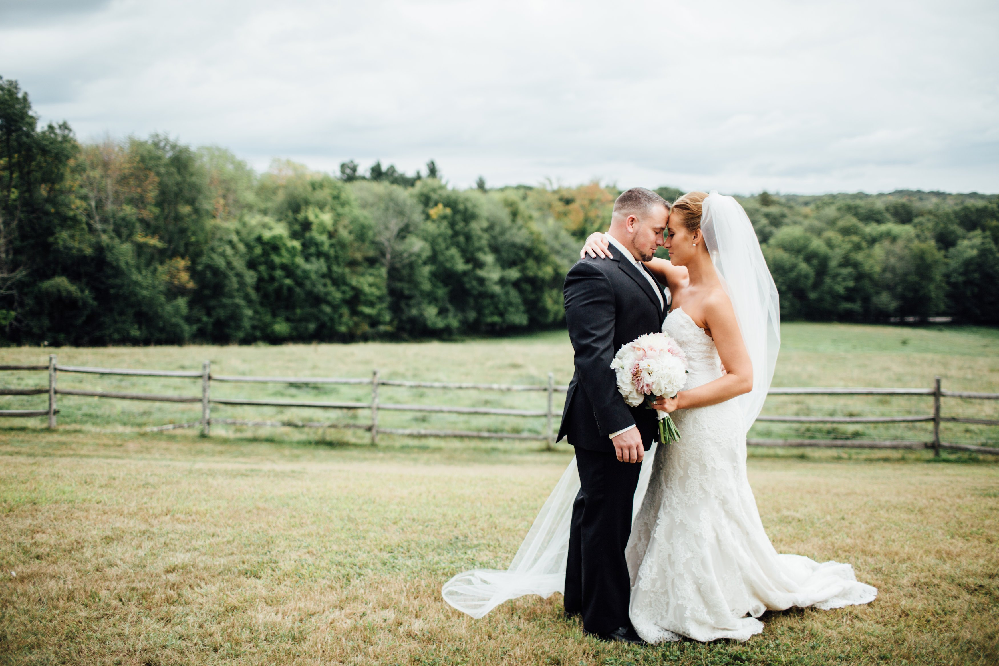 New England Backyard Wedding