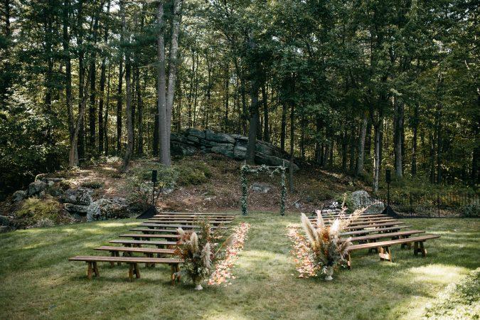 new england wedding ceremony