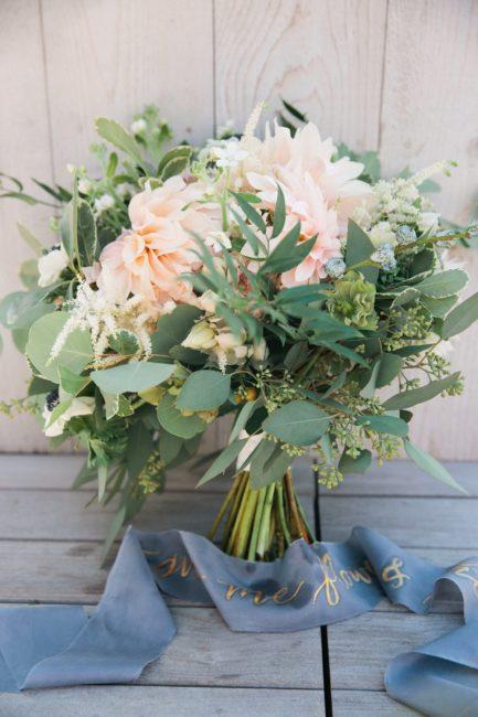 boston bridal bouquet