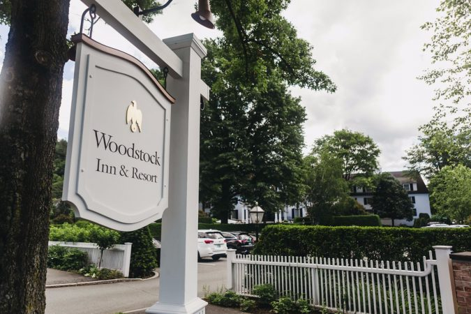 woodstock inn wedding