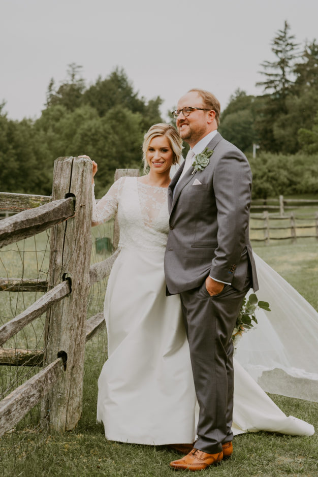 New England Bride and Groom Style
