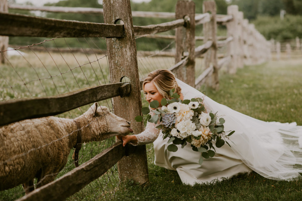 Luxury Farm Wedding Inspiration
