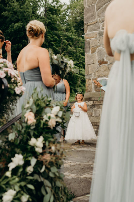 New England Flower Girl Inspiration
