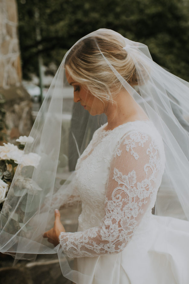 Vermont Wedding Bridal Portrait