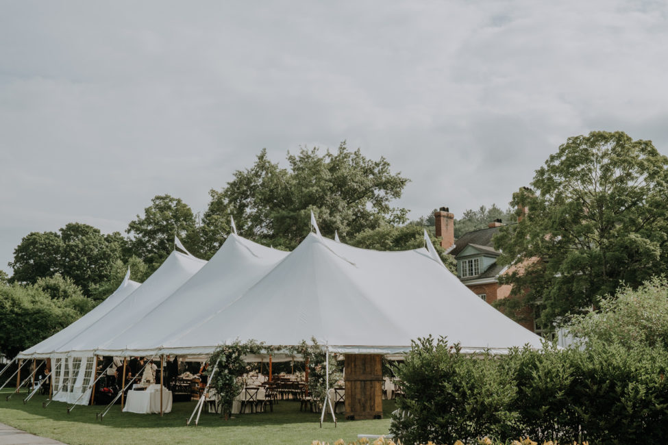 ew England Wedding Tent Inspiration