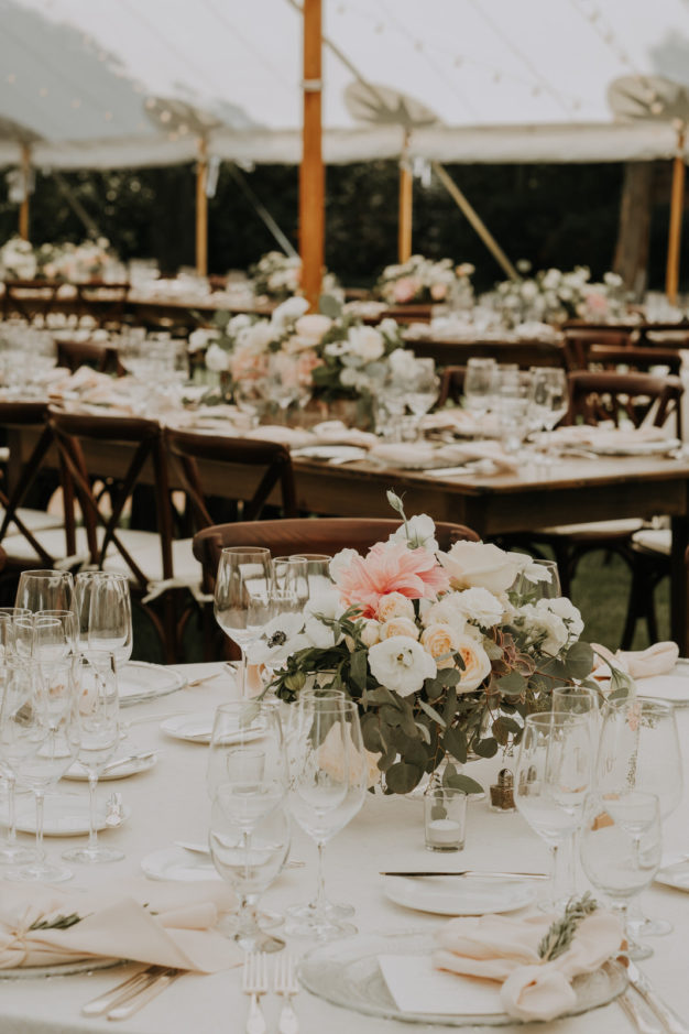 Outdoor Summer Wedding Table Inspiration