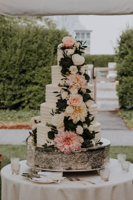 Luxury Summer Floral Cake
