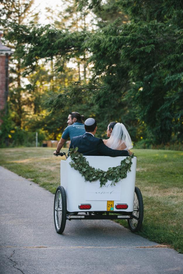 wedding pedicabs