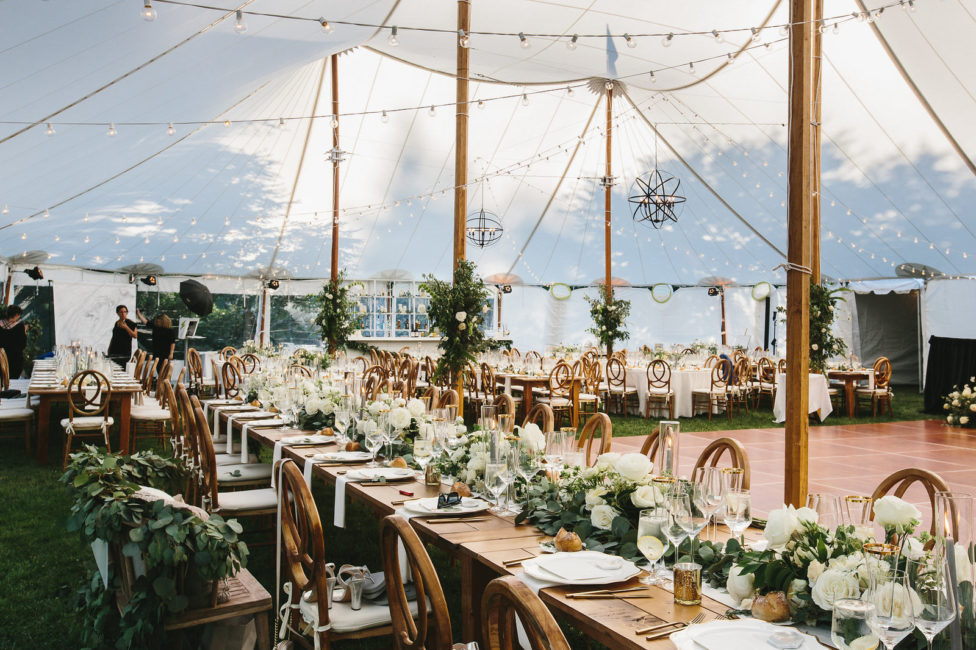 tented wedding boston