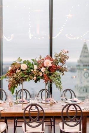 state room wedding flowers